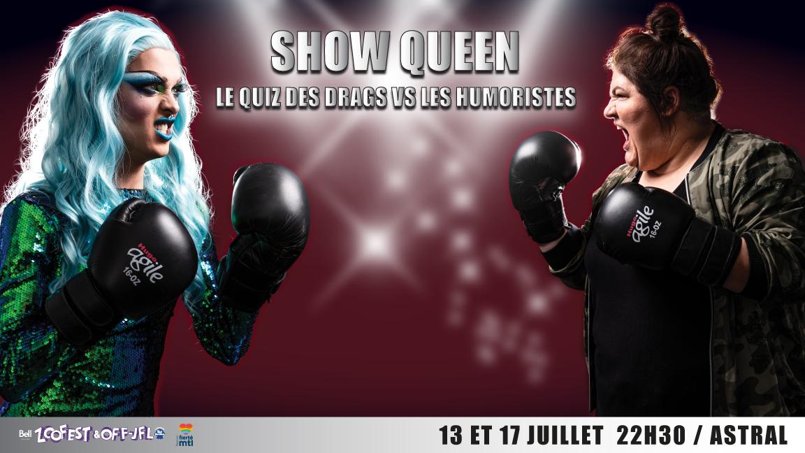 Show Queen : le quiz des Drags vs. les Humoristes