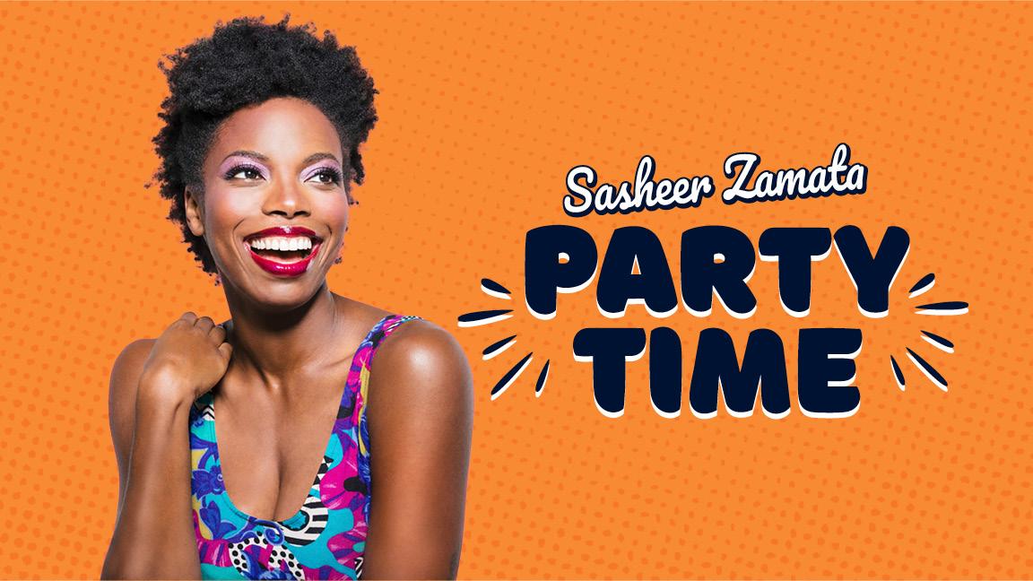 Sasheer Zamata Party Time!
