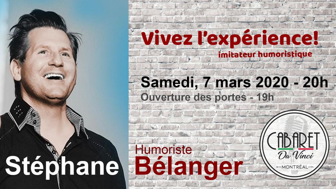 Stéphane Bélanger - Soirée d'humour