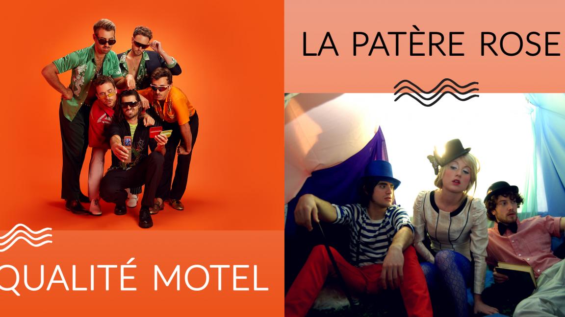 Plateau double - Qualité Motel X Patère rose