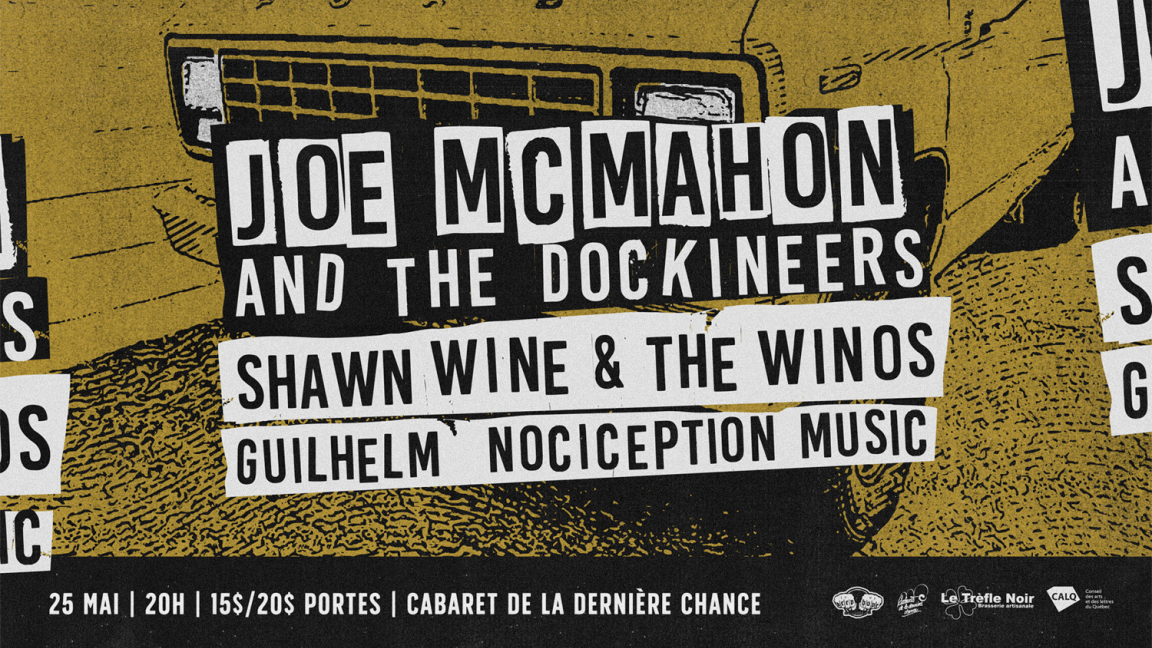 Joe McMahon and the Dockineers @ Rouyn-Noranda