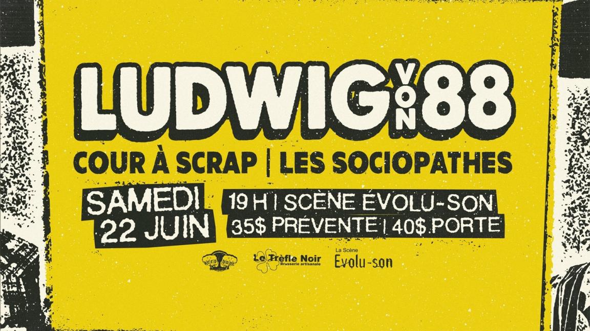 Ludwig Von 88 @ Rouyn-Noranda