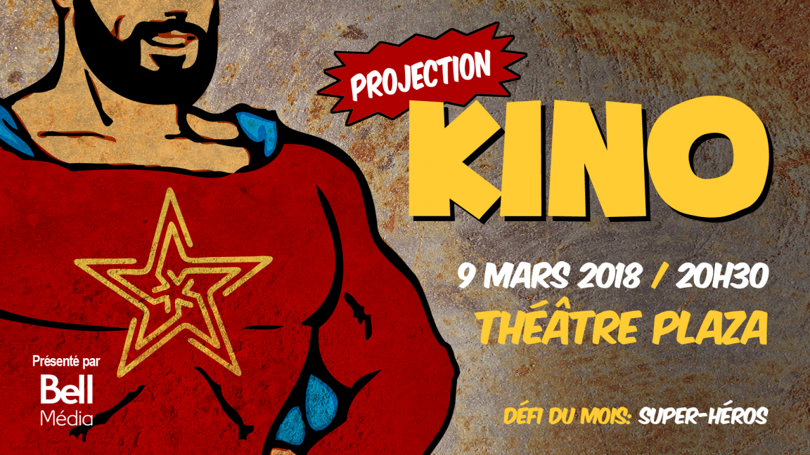 Projection Kino - mars 2018