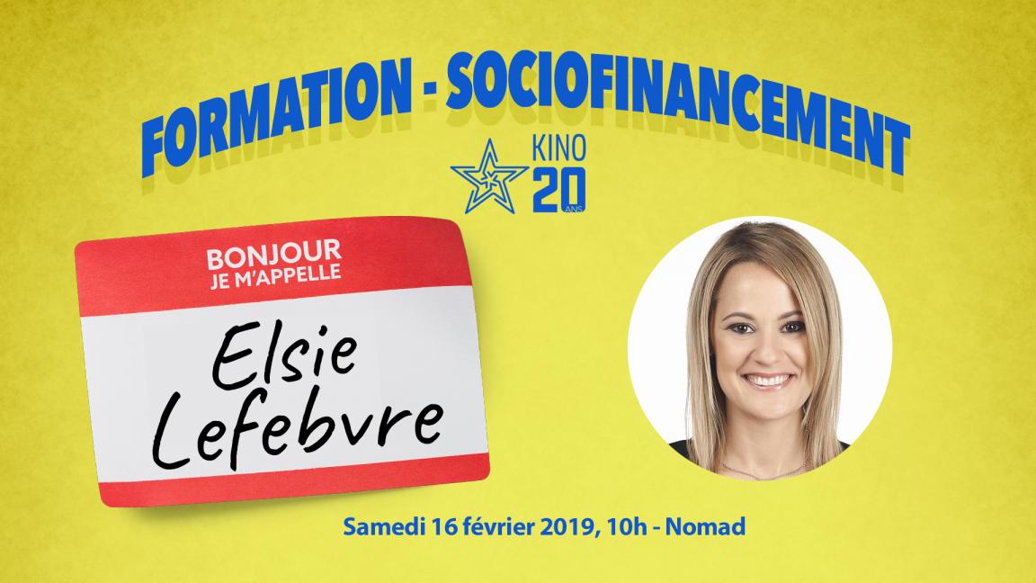 Formation Kino - Sociofinancement