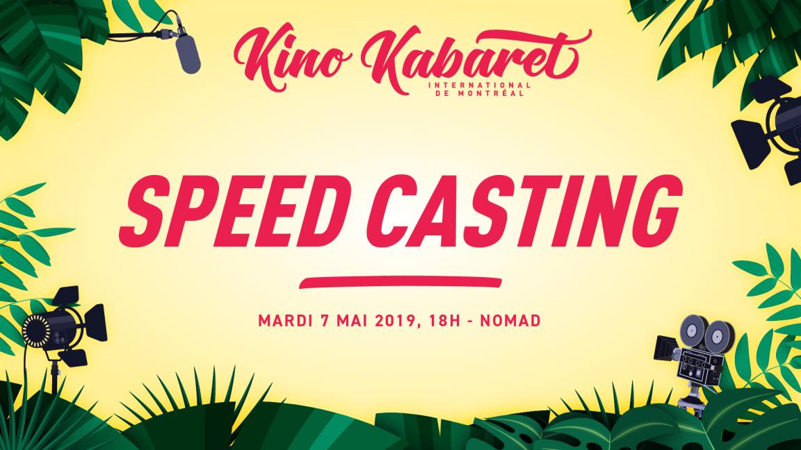 Inscription Speed Casting