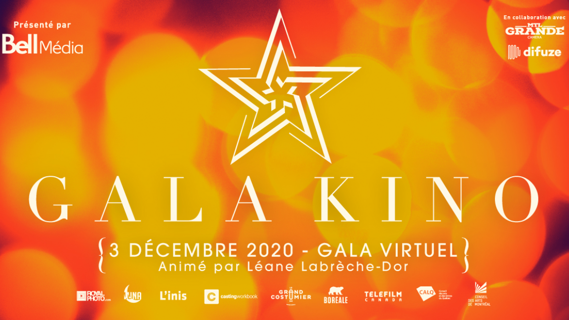 Gala Kino 2020 : Édition Virtuelle