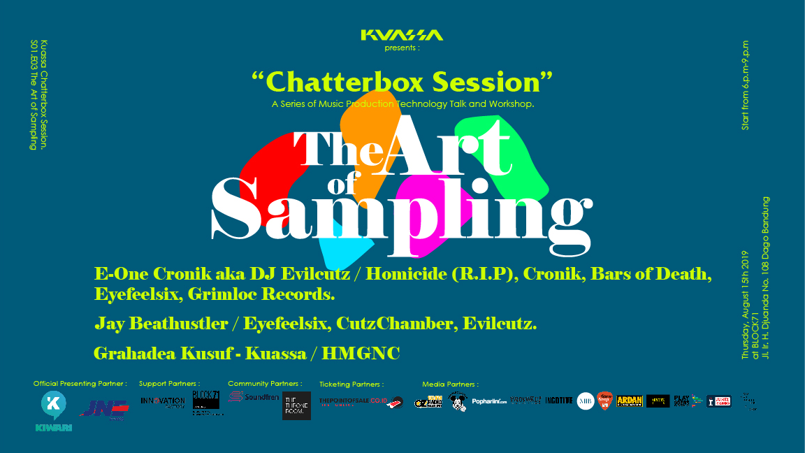 Chatterbox Session Season 1 - The Art of Sampling