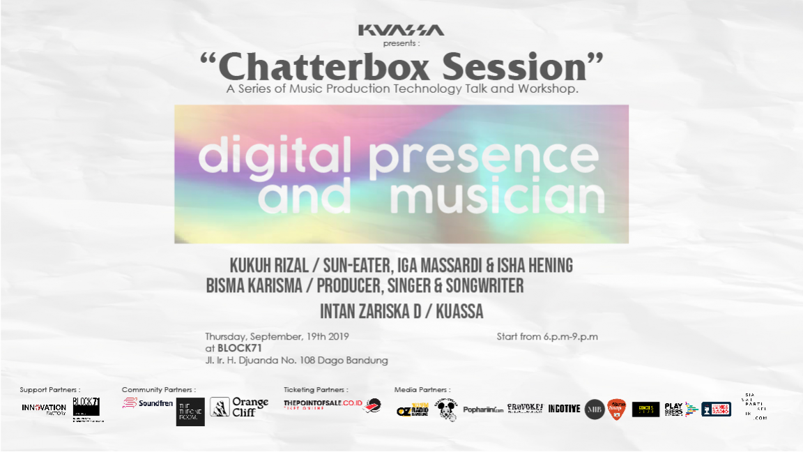 Chatterbox Session - Digital Presence and Musician