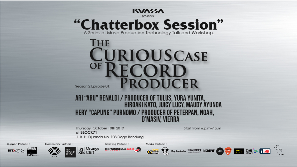 Chatterbox Session Season 2 - The Curious Case of Record Producer