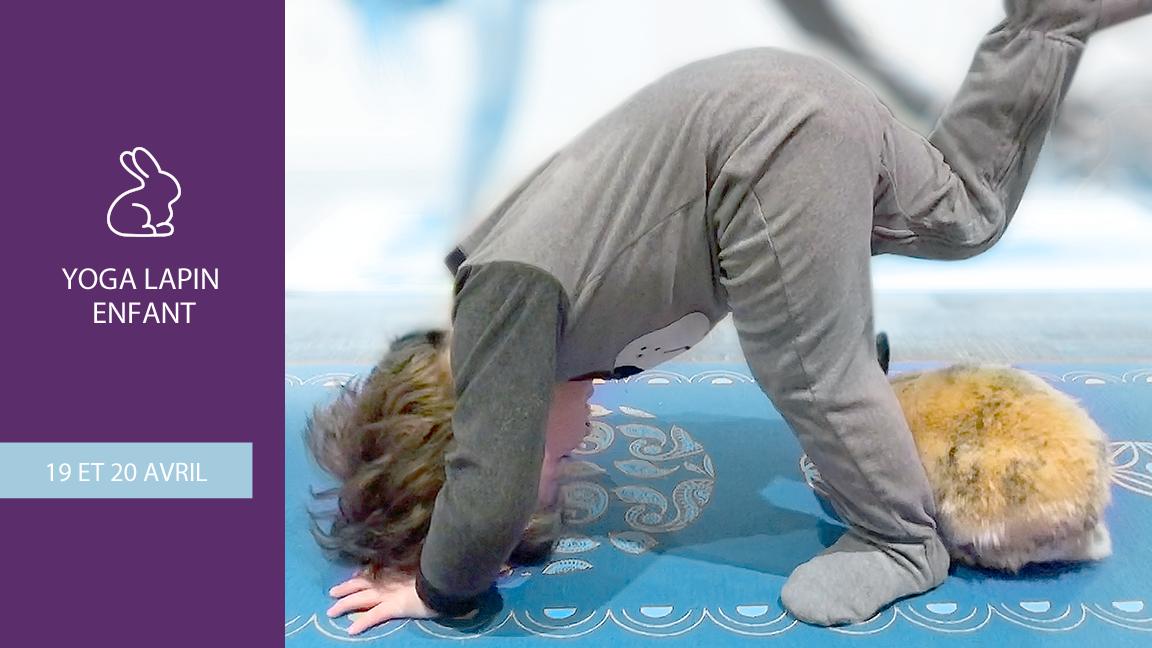 Yoga Lapin - enfant