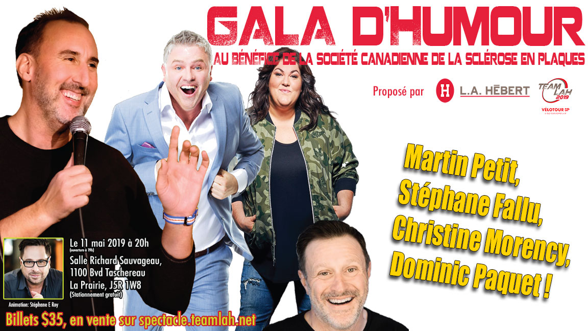 4 ième Gala d'humour pour la SP