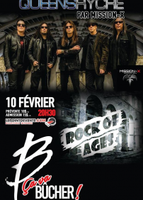 Hommages Queensryche + Rock of Ages