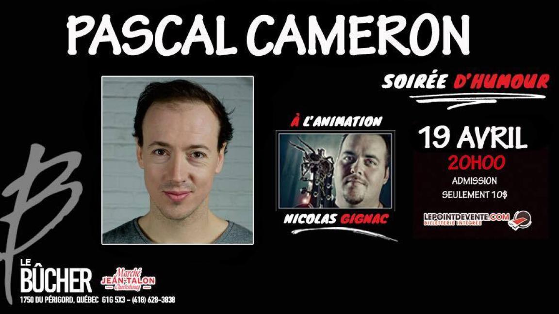 Soirée d'humour avec Pascal Cameron