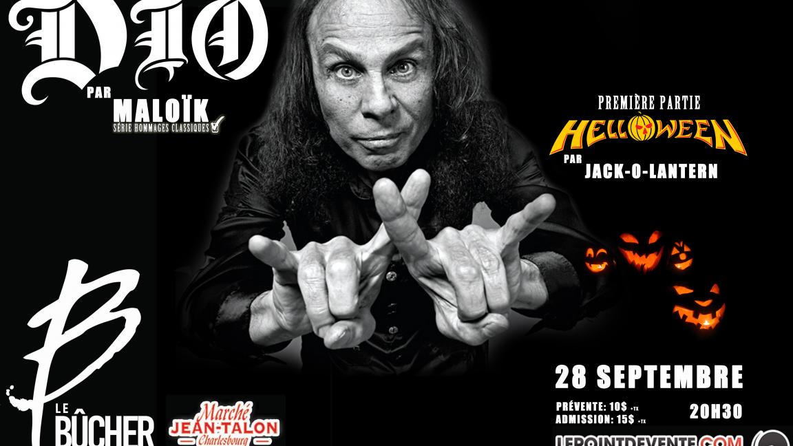 Hommage à Dio et Helloween