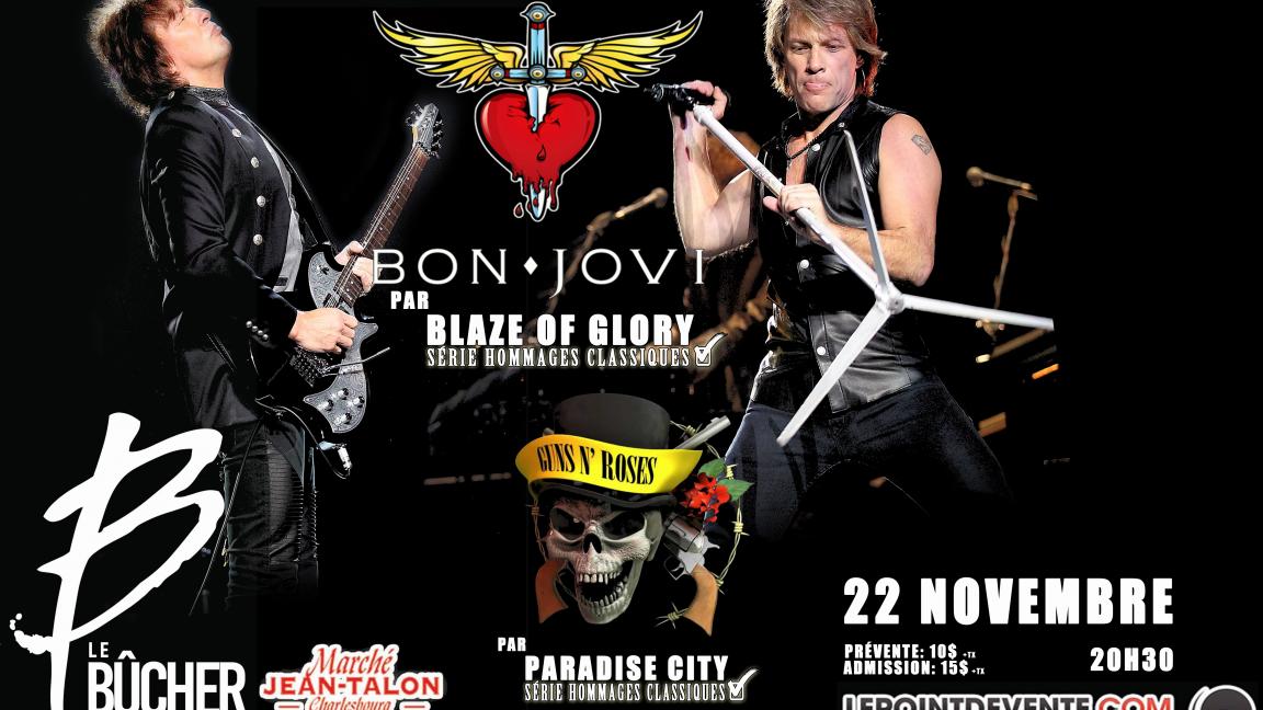 Hom. à Bon Jovi/Guns N' Roses