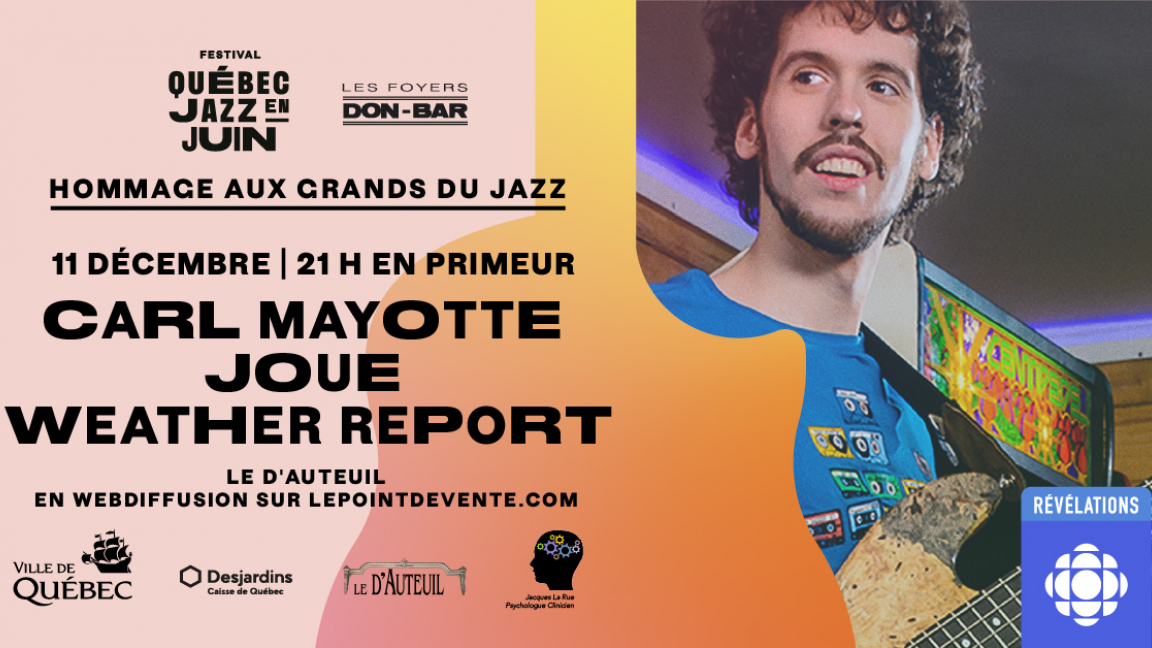 Carl Mayotte joue Weather Report