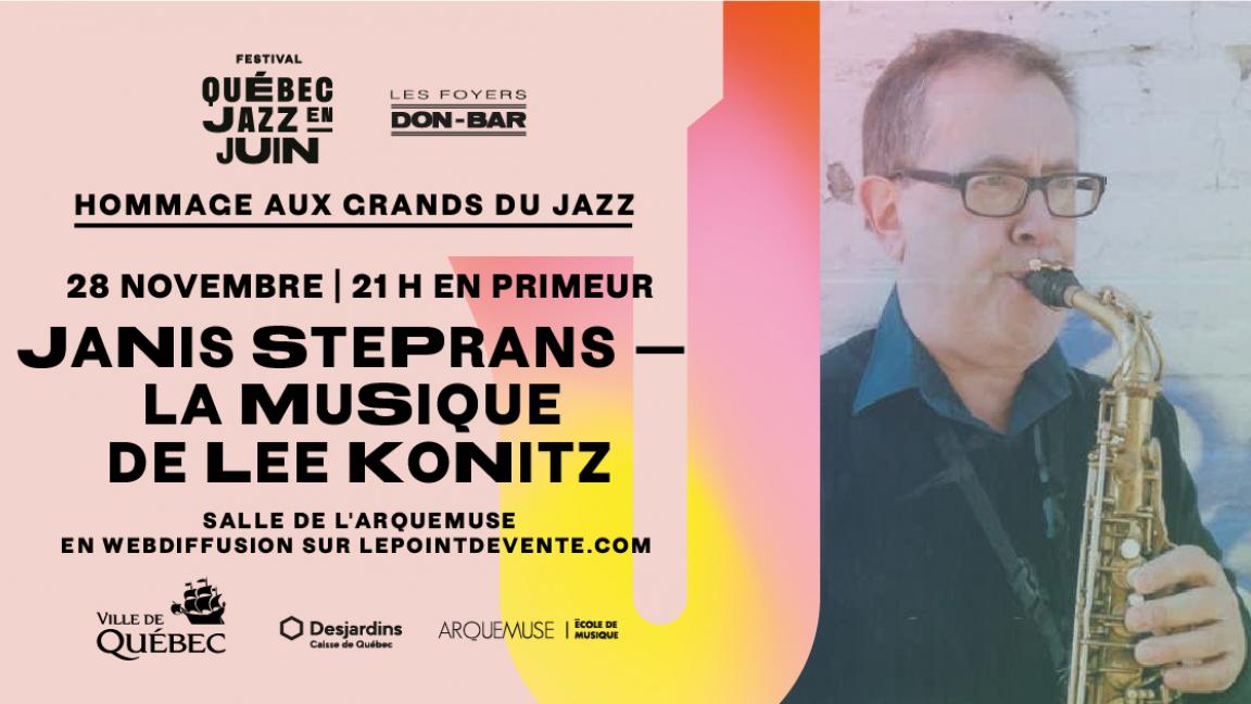 Janis Steprans — La musique de Lee Konitz