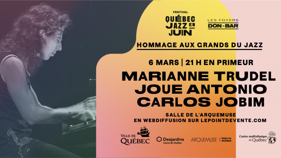 Marianne Trudel joue Antonio Carlos Jobim