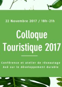 Colloque Touristique 2017