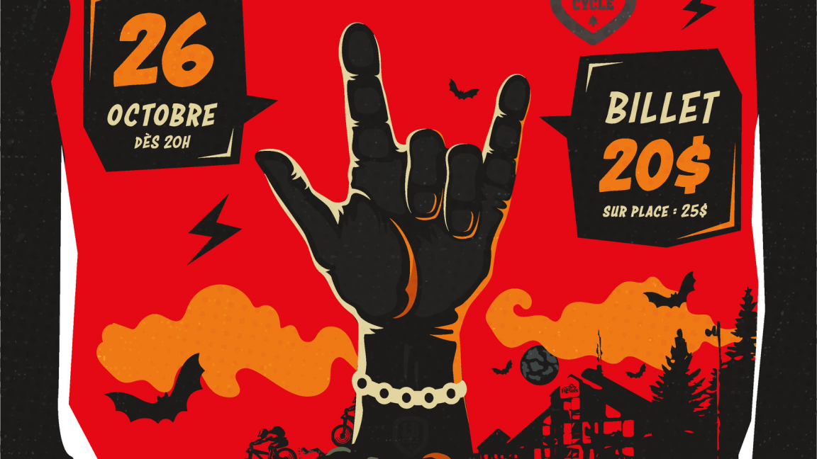 Party d'Halloween au profit de LB-Cycle