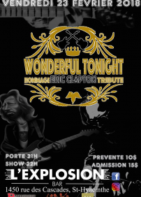 Wonderful Tonight - Hommage à Eric Clapton et Cream