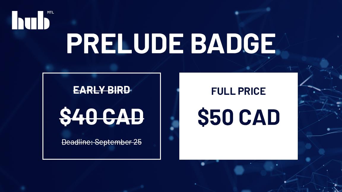 Prelude Badge