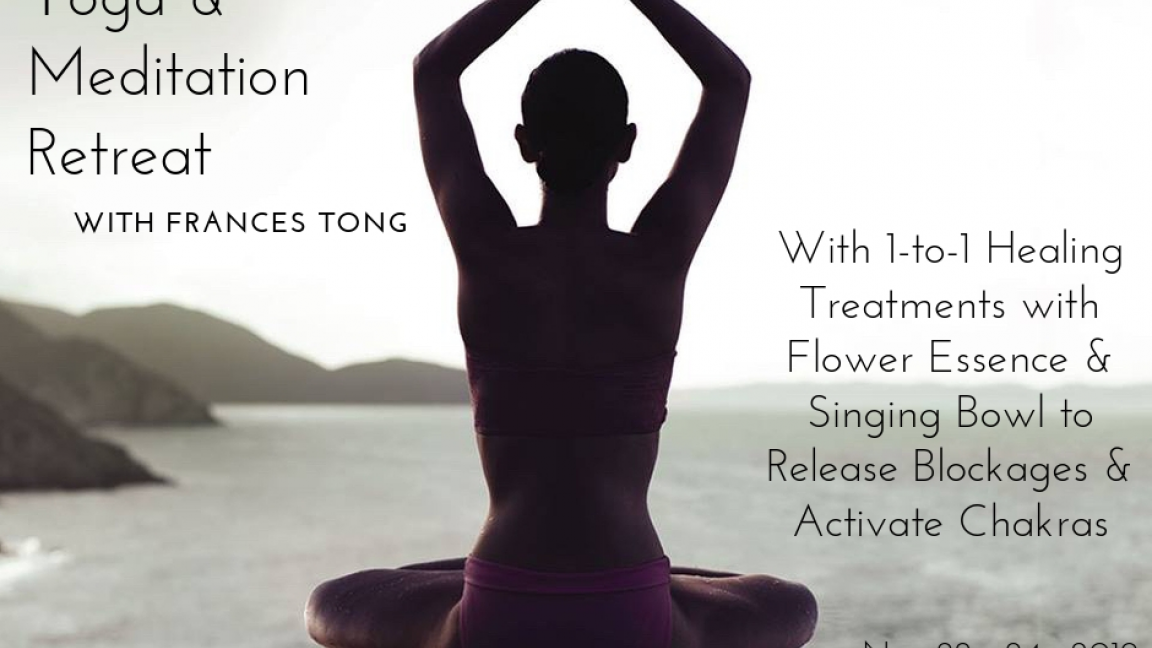 Yoga & Meditation Retreat by Frances Tong