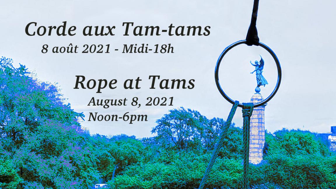 Rope at Tams