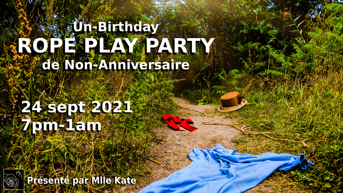 Un-Birthday Rope Play Party