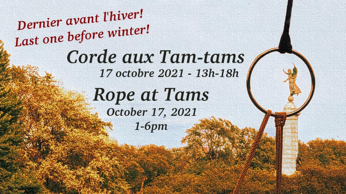 LAST Rope at Tams