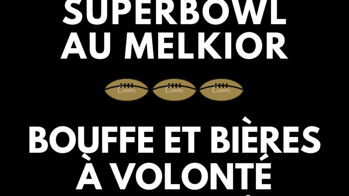 PARTY DU 54E SUPERBOWL AU MELKIOR