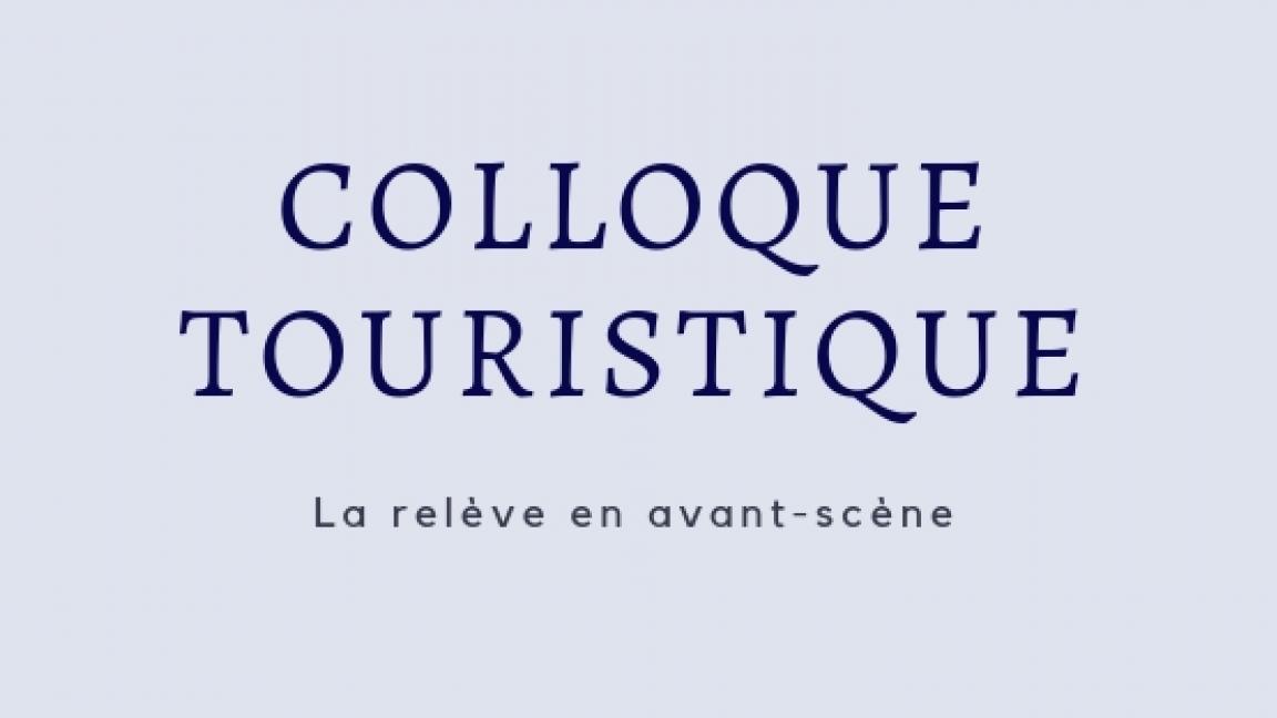 Colloque Touristique 2018