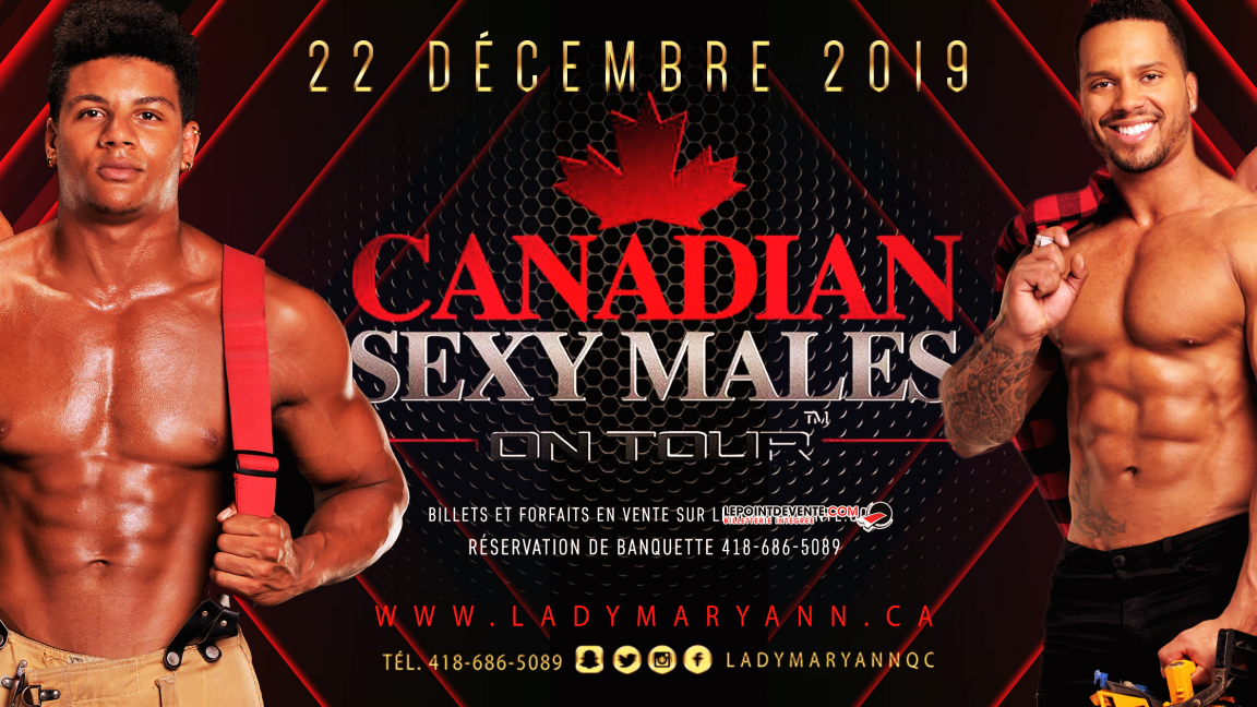 CANADIAN SEXY MALE ON TOUR