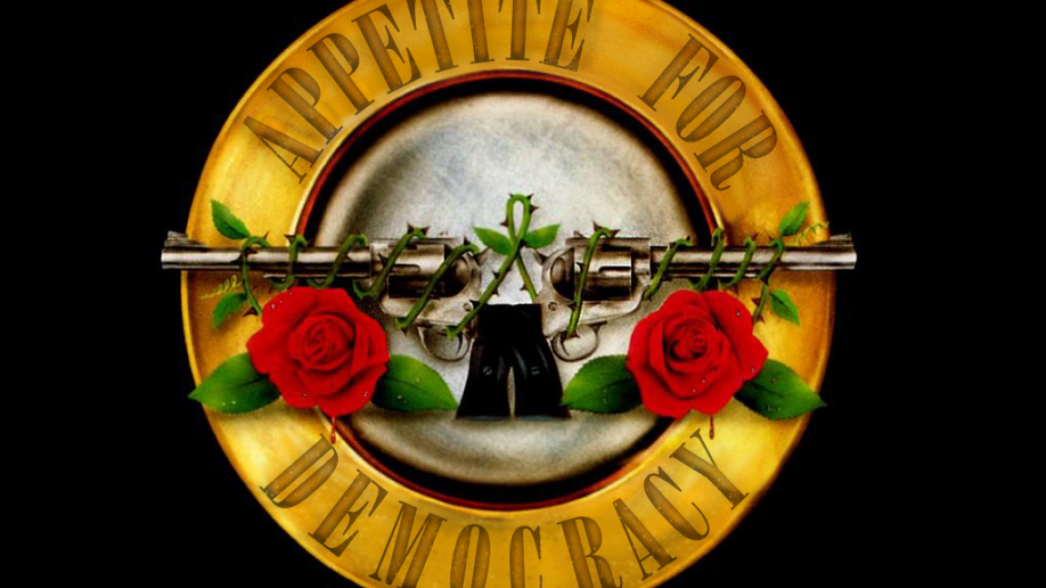 Hommage à Guns N' Roses: Appetite for democracy