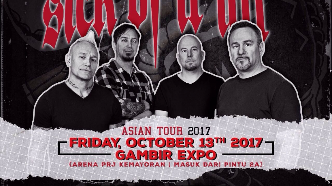 Sick Of It All Live : Asian Tour 2017