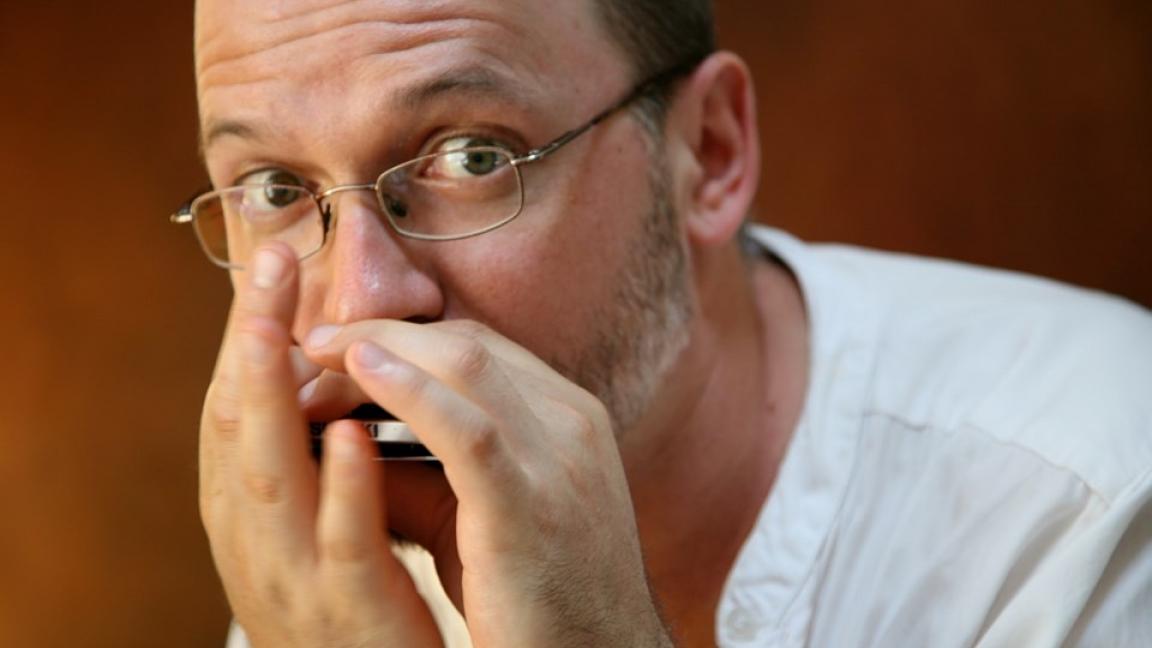 Conférence-spectacle de Sylvain Rodrigue: L'histoire de l'harmonica