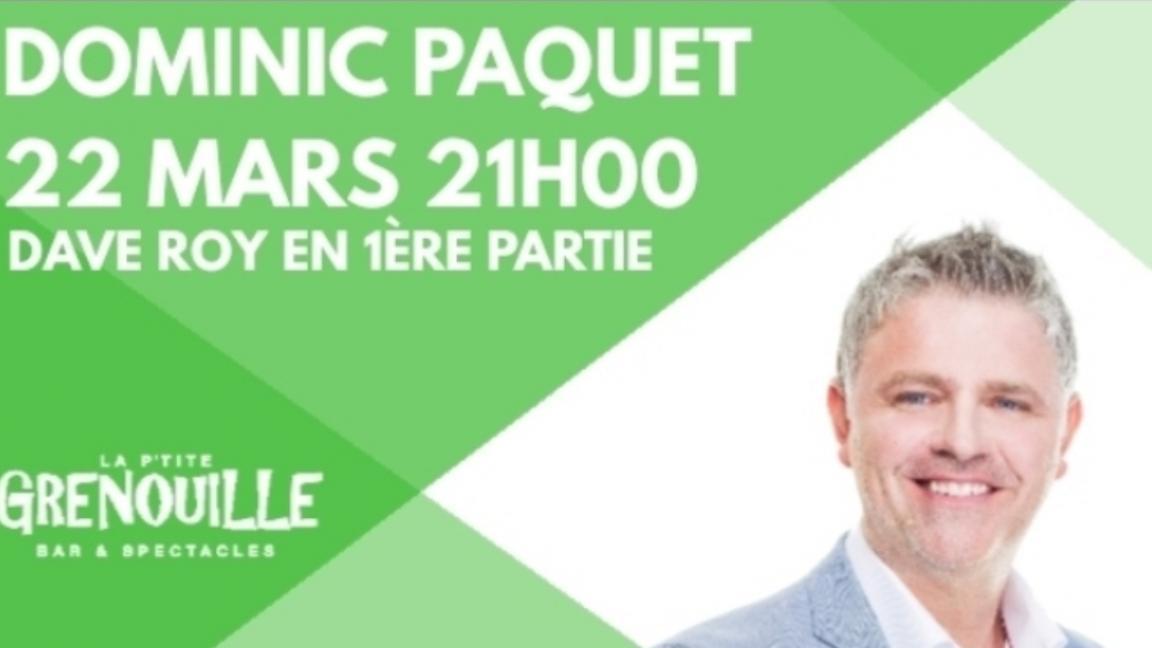 Dominic Paquet à Rimouski