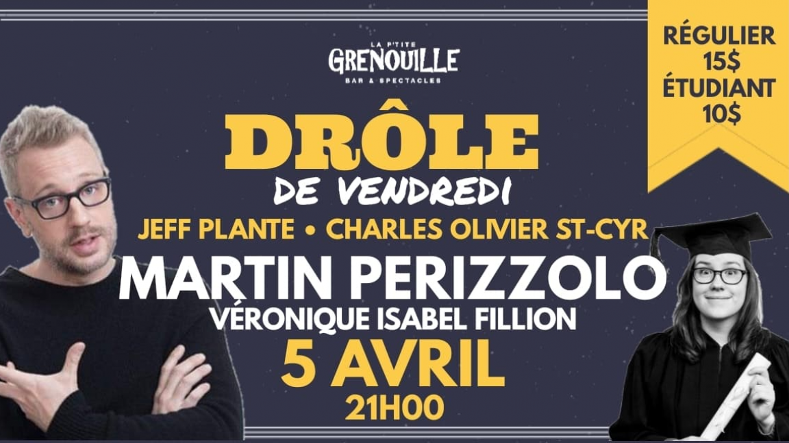 Martin Perizzolo - Drôle de Vendredi