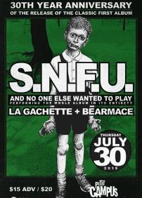 SNFU - 30th Year Anniversary