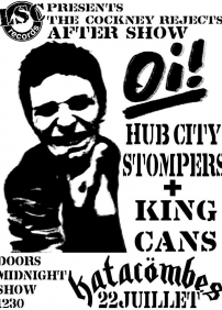 Cockney Rejects Aftershow: Hub City Stompers