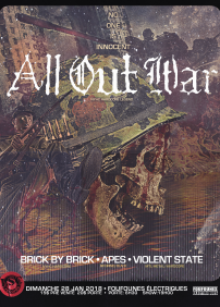 All Out War - Brick By Brick - Apes - Violent State
