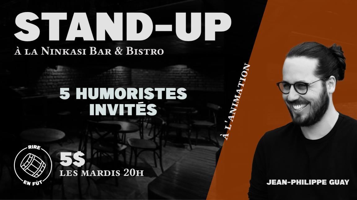 STAND-UP à la Ninkasi Bar & Bistro