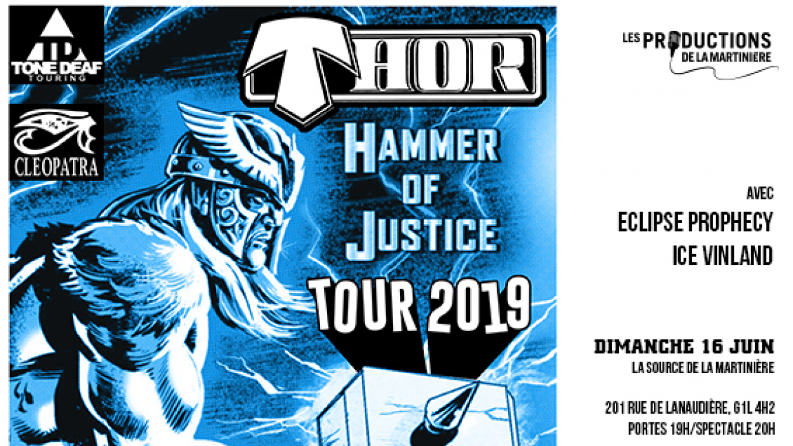 Thor • Eclipse Prophecy • Ice Vinland
