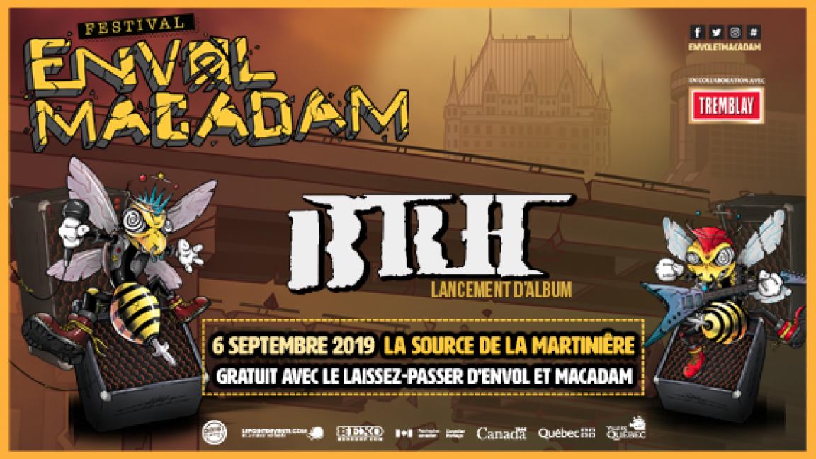 BRH - Lancement d'album
