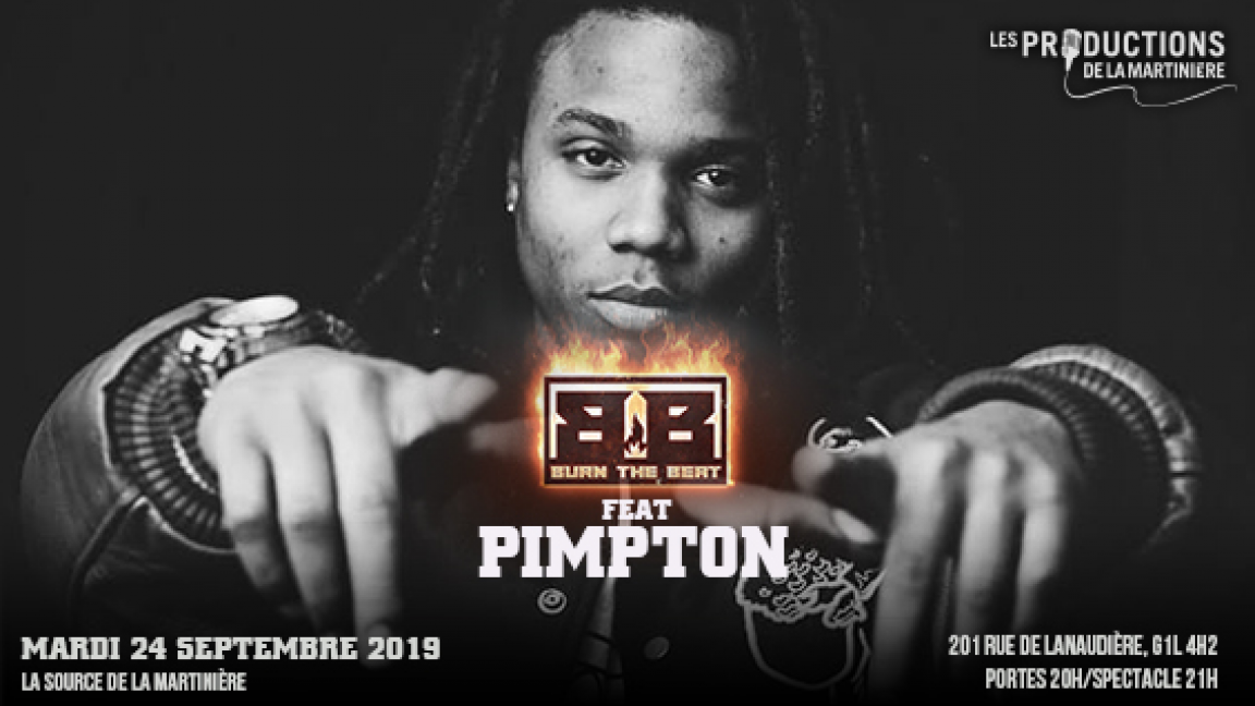 Pimpton featuring Burn The Beat