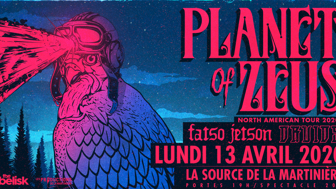 Planet Of Zeus / Fatso Jetson / Druids