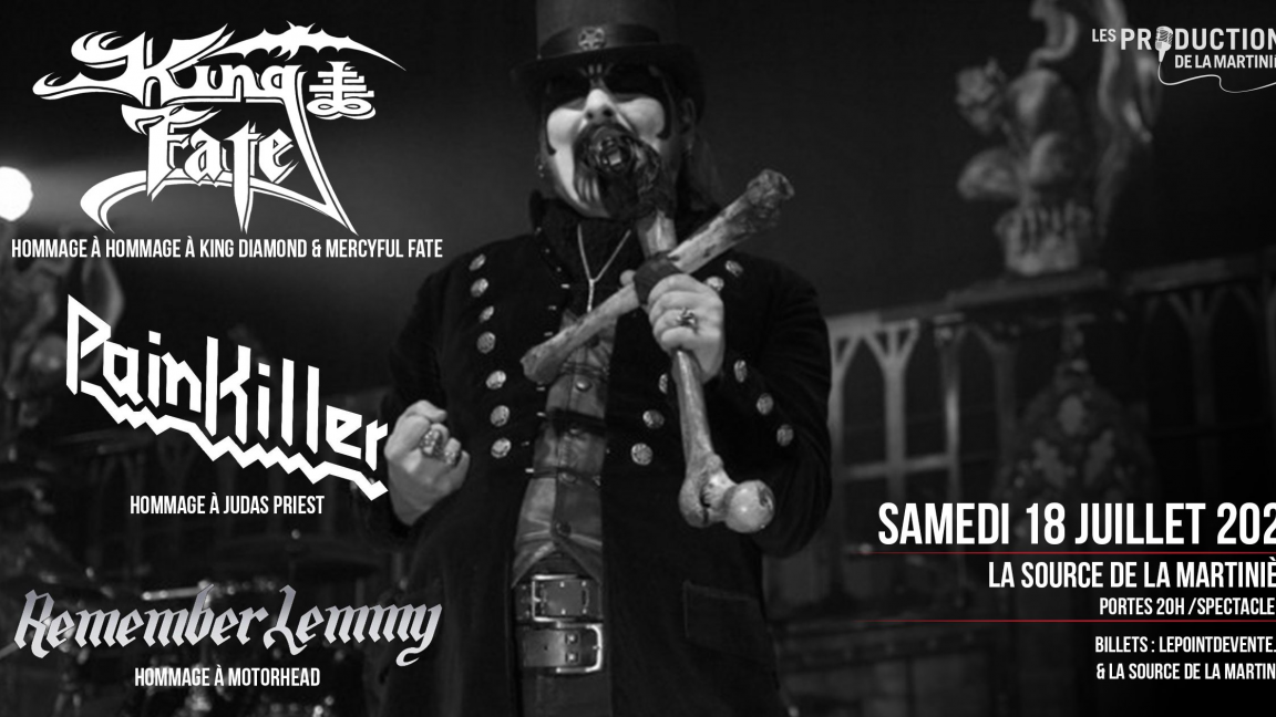 King Of Faith / Pain Killer / Remember Lemmy