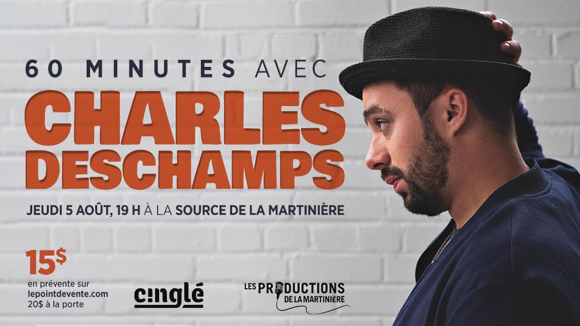 60 MINUTES AVEC CHARLES DESCHAMPS