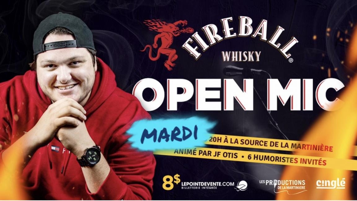 L'Open Mic FIREBALL