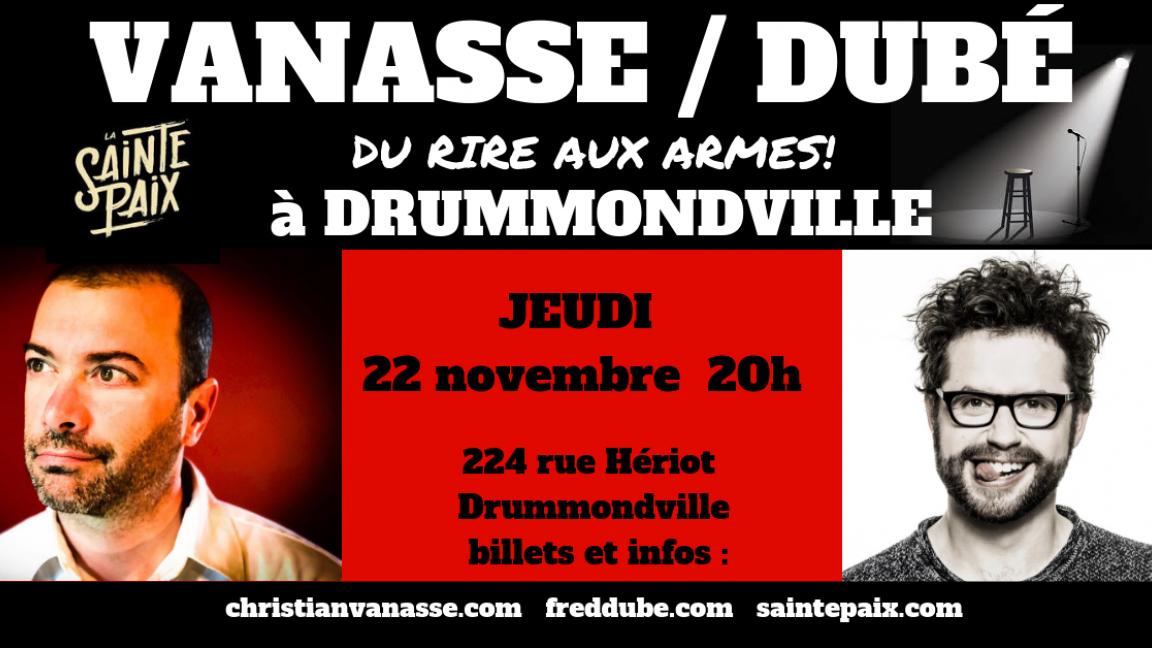 Christian Vanasse et Fred Dubé